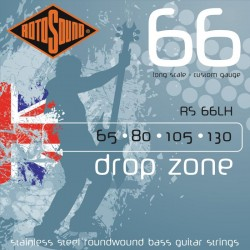 ROTOSOUND RS66LH BASS STRINGS STAINLESS STEEL