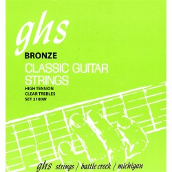 GHS STRINGS 2100W SILVER ALLOY