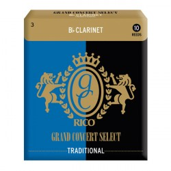 RICO Grand Concert Bb Clarinet TRADITIONAL 2,5x10 (RGC10BCL250)
