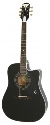 EPIPHONE PRO-1 ULTRA Acoustic/Electric Ebony