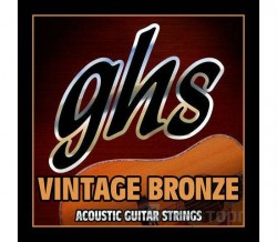 GHS STRINGS VN-XL VINTAGE BRONZE