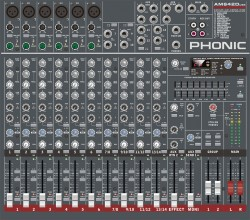Phonic AM642D USB