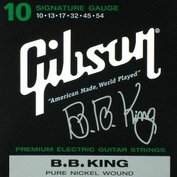 GIBSON SEG-BBS B. B. KING SIG. ELECTRIC .010-.054