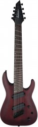 JACKSON X Series Dinky Arch Top DKAF8 MS, Dark Rosewood, Stained Mahogany