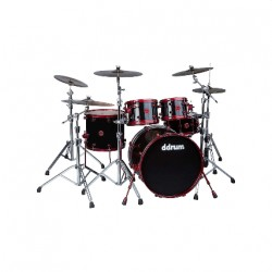 Ddrum REFLEX 522 BLK RED