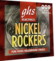 GHS STRINGS R+RL NICKEL ROCKERS