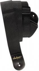JACKSON 2` Poly Guitar Strap, Black