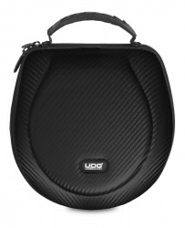 UDG Creator Headphone Hardcase Large Black PU Carbon