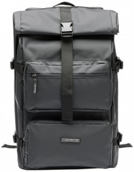 Magma Rolltop-Backpack III black/black